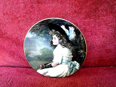 Royal Grafton Collector's Plate ' Daughter Of Eve ' - Pears Victorian Paintings