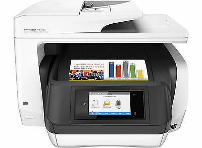HP OfficeJet Pro 8720 All in One Wireless Multifunction Printer Copy Scan Fax