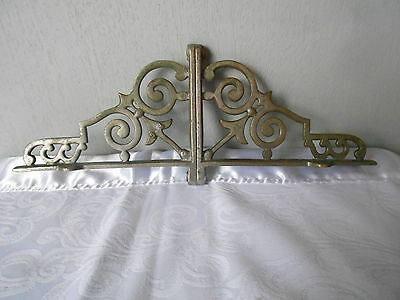 Vintage French Stylish Steel Pediment Plaque
