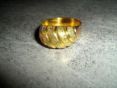 Anello Oro 18Kt 750 Decorato Gold Made In Italy Top Quality Luxury Ring Jewel