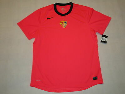 Nike FC BASEL Trainings-Trikot Jersey Camiseta Maglia Maillot NEON PINK  XXL 2XL
