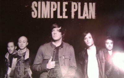 Simple Plan Self-Titled Double-Sided Limited Edition Poster 11x17