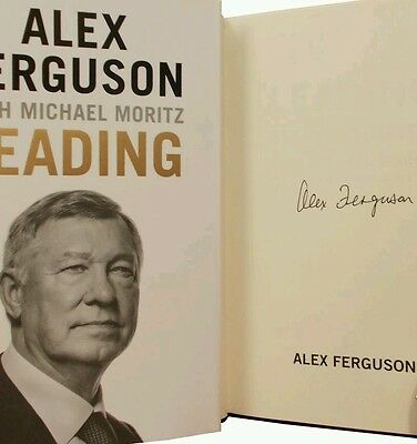 Alex Ferguson 1St Edtion Signed Book Brand New Unread