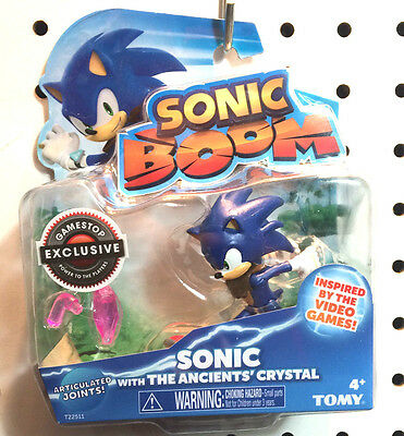 Sonic Boom Figure w/ The Ancients' Crystal ~ Gamestop Exclusive (2015)