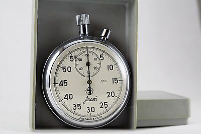 Stopwatch Agat Mechanical  Russian Soviet Made in USSR condition