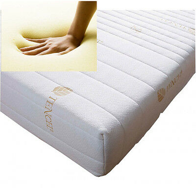 Memory Foam Toppers With Cool Max, Aloe Vera And Tencil Zip Covers In All Sizes
