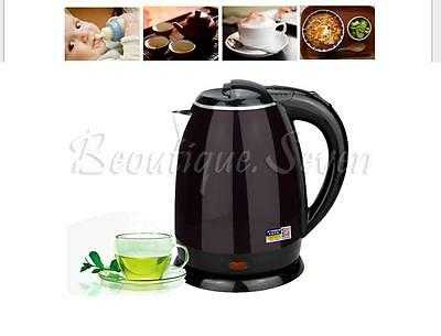 Stainless Steel Premium 1.8L Electric Kettle Indicator Light Cordless 360