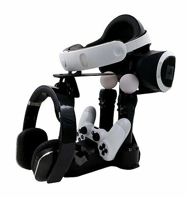 Controller Charge Display Station Dock Stand F PSVR Playstation VR PS4 Move VR M
