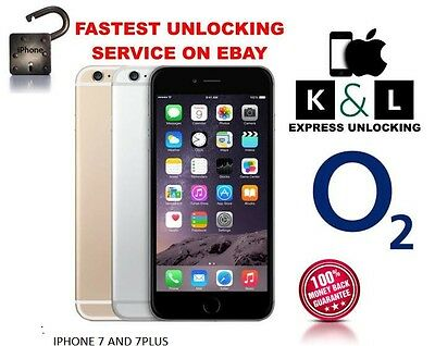 Iphone 7 And 7Plus  O2 Unlocking Very Fast Service