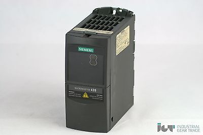 Siemens Micromaster 420 6SE6 420-2UD13-7AA1 ohne Filter