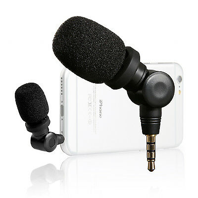 Saramonic Flexible Microphone with High Sensitivity for IOS & Android Smartphone