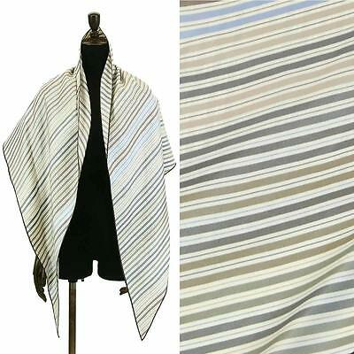 Auth HERMES Maxi Losange Scarf Border Silk Ivory Accessories 90002490
