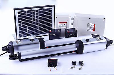 New 700KG Double Swing Auto Motor Gate Opener with Solar