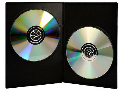 Double DVD Cases  - (lot of 25) - Solid Construction