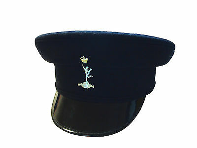 British Army - Royal Signals Peaked Cap Size 55 cm - Used - Grade 1 - SP754