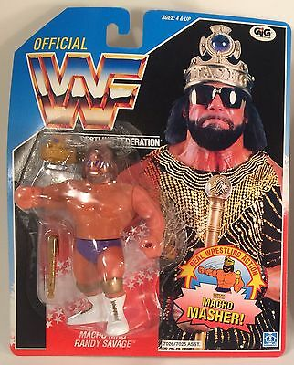 Macho King Randy Savage WWF MOC Wrestling action figure WRESTLER hasbro Sealed