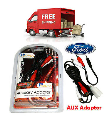 Ford Falcon Territory BA BF SX SY SYII Car AUX Factory Adaptor Cable Harness