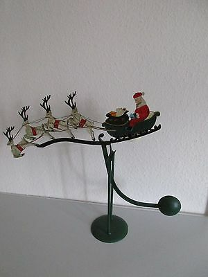 Riesiges VINTAGE Weihnachtsmobile-Standmobile-Buntmetall