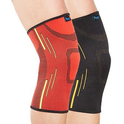 Actesso Sports Knee Support Sleeve Compression Bandage Sprain Strain Gym Running