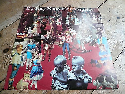 Do they know it Christmas Feed The World 12 inch single Band Aid 1984