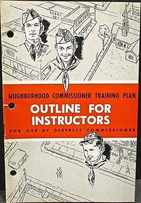 Boy Scouts Of America Leaders Guidebook Outline For Instructors