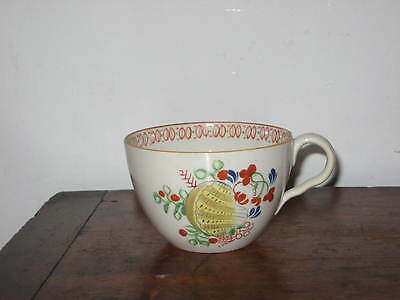 English Prob New Hall Regency Shell Pattern Cup & Saucer Bowl