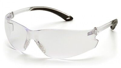 Pyramex Itek Safety Eyewear Glasses Anti Fog Clear Grey Blue I/O Silver Amber
