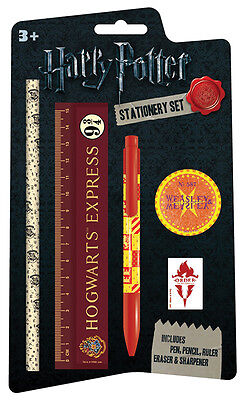 Harry Potter Hogwarts Express Weasley 5 Piece Stationery Set Logo Official