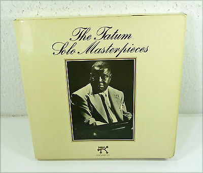 "ART TATUM wlp 13-LP Box ""The Tatum Masterpieces"" german 70s WL Promo PABLO"