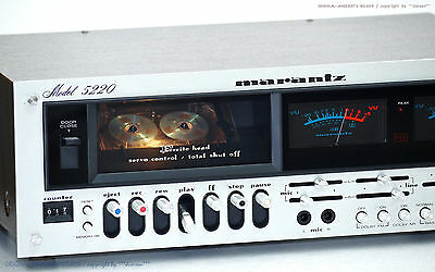 MARANTZ Model 5220 Vintage High-End Cassette-Deck 1A-Zust! Revidiert+1J.Garantie