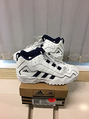 Vintage Adidas Dish Made In Indonesia 1997. US 7,5 Rare Basketball Shoes
