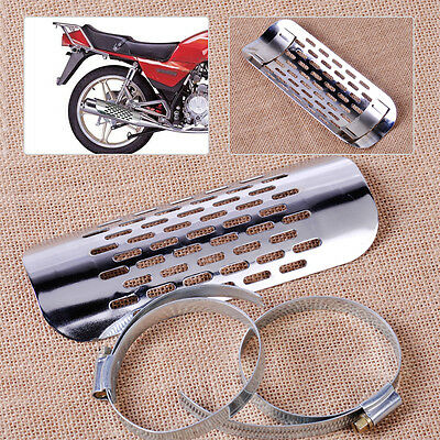 Exhaust Muffler Pipe Heat Cover Shield Guard Fit For Harley Cruiser Motorcycle