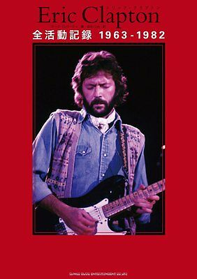 Book All Record of ERIC CLAPTON 1963 - 1982  Japan 2015