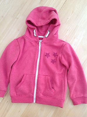 Girls zipped hoodie size 6-7 years by Primark