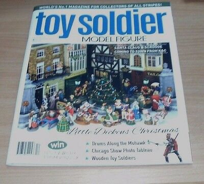 Toy Soldier & Model Figure magazine DEC 2016/JAN 2017 Dickens Christmas & more