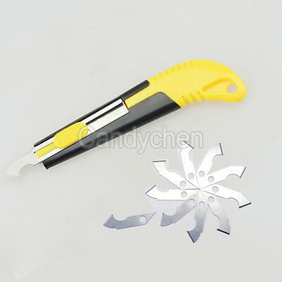 Acrylic Plastic PVC Sheet Perspex Cutter Cutting Tool Craft With Spare 10 Blades