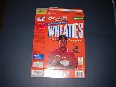 Tiger Woods 1999 12 Ounce Cereal Box Series 38