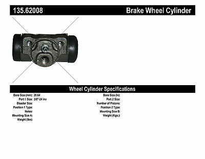 Drum Brake Wheel Cylinder-C-TEK Standard Wheel Cylinder Rear Centric 135.63030