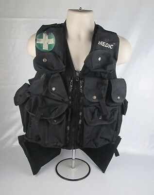 Police Medic Arktis Vest Utility Tactical Airsoft One Size Adjustable