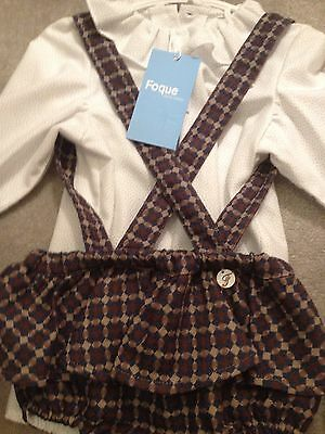 Fogue Girls Jam Pants Spanish Suit Age 3