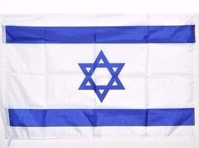 Federal Flags-3x5 ft ISRAEL High Quality Star of David Flag Indoor Outdoor flag