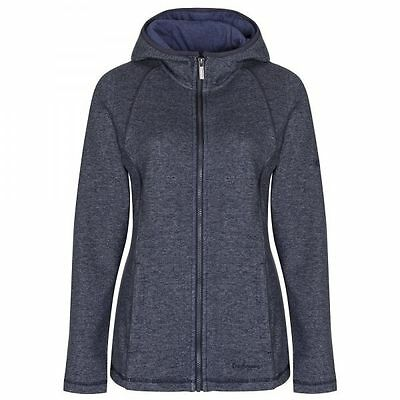 Craghoppers Womens Fernlee Hooded Fleece Sweatshirt in Navy Blue - Size 8