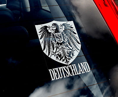 Germany - Car Window Sticker - Deutschland Mannschaft Football German Eagle DFB