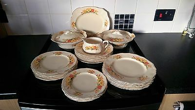 "Alfred Meakin""goldendale"" Dinner Service"