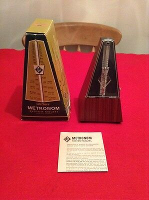 Vintage Wittner Metronome Made In W Germany Original Box