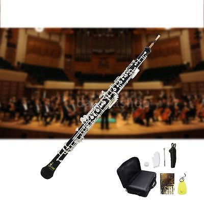Professional Oboe C Key Cupronickel Musical Instrument for Beginner I5X5