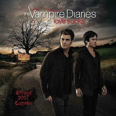 The Vampire Diaries 2017 Official Square Calendar