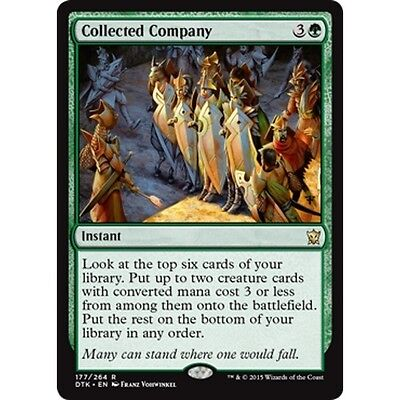 MTG DRAGONS OF TARKIR * Collected Company