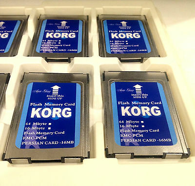 New 16 MB Flash Memory Card For Korg PA80 PA60 PA50 Quality*