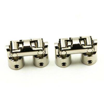 5*5mm Boat Car Shaft Coupler Motor connector Universal Joint Coupling Silver